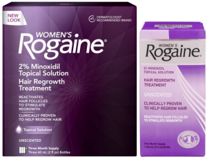 women's rogaine hair product