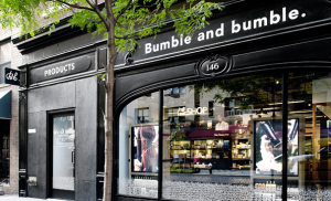 outside the bumble and bumble salon