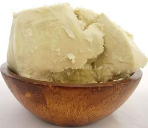 Organic Shea Butter in a bowl
