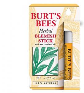 Burt's Bees skin blemish stick