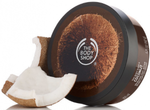 The Body Shop's body butter.