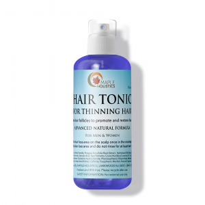 Bottle of hair tonic.