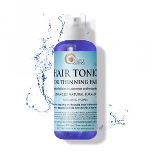 Bottle of hair tonic.