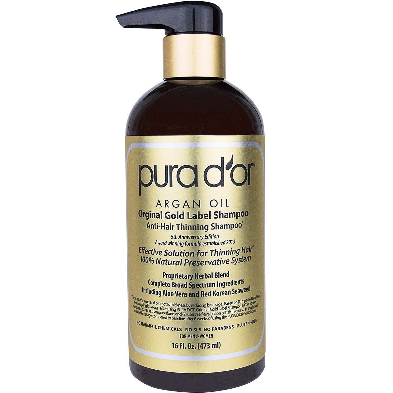 Pura D'Or Argan Oil Shampoo bottle