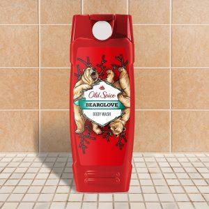 Old Spice Bear Glove Body Wash bottle