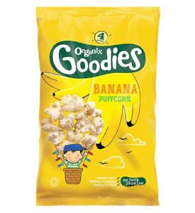 bag of organix banana puffcorn
