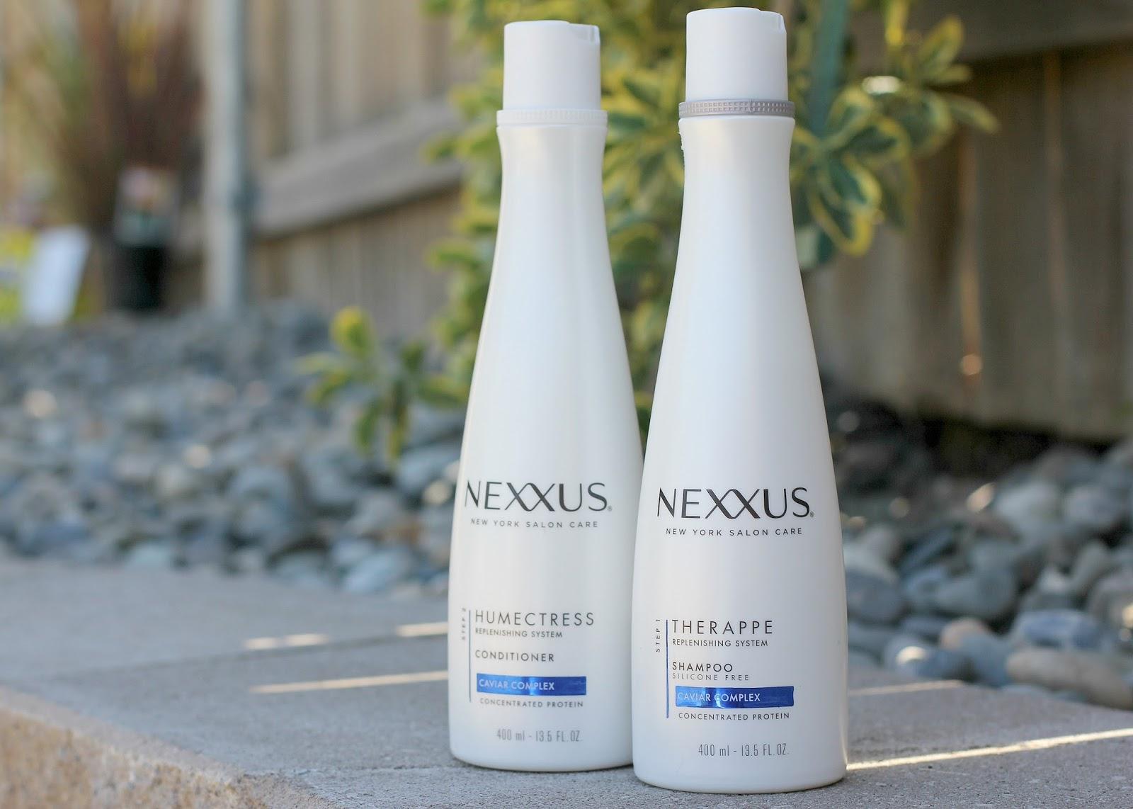 Nexxus bottles.