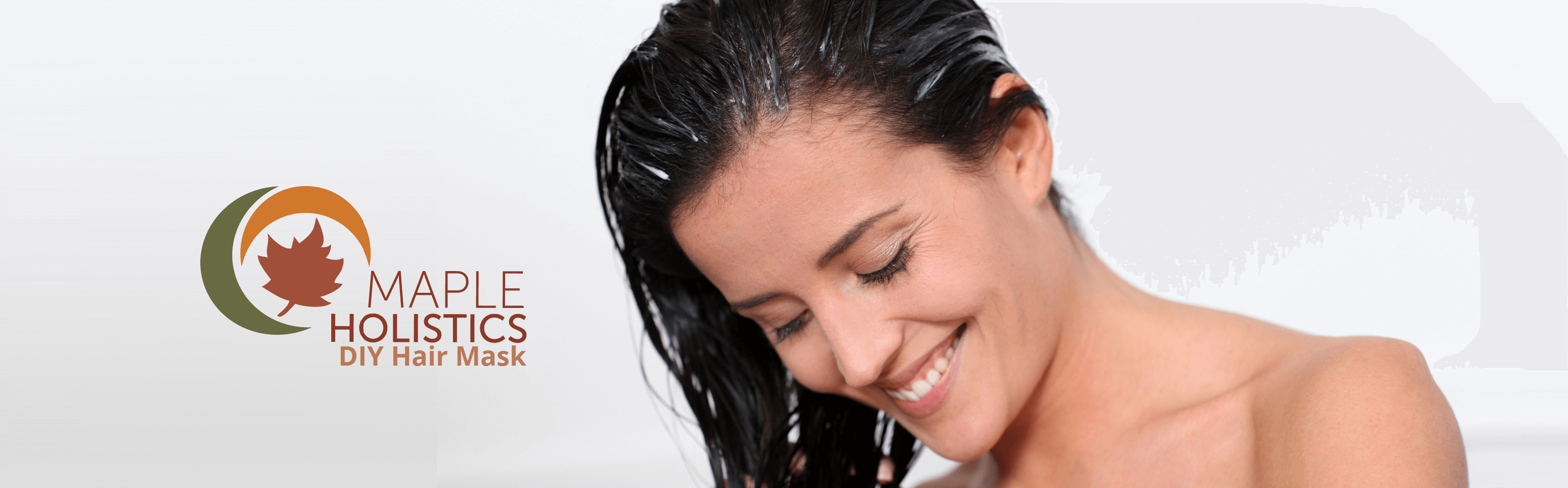 Woman smiling with product in her hair.