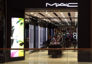 Mac store front.