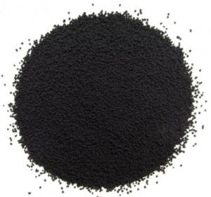 Pile of black powder.