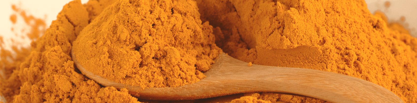Spoonful of turmeric.