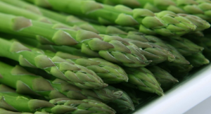 Asparagus stacked.