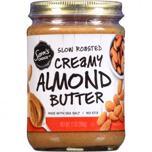 slow roasted, creamy almond butter