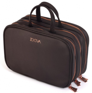 Zoeva black makeup bag.