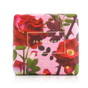 Red Roses Bath Soap packaging.
