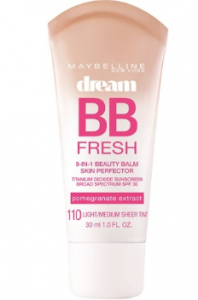 Maybelline's BB Cream packagaing.
