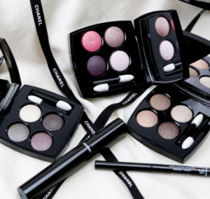 Chanel Les 4 Ombres eye shadow pallets.