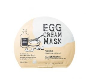 Egg Cream Mask packaging.