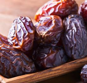 Pile of dates.