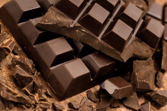 Bars of chocolate.