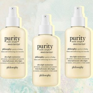 Philosophy Purity Made Simple moisturizer.