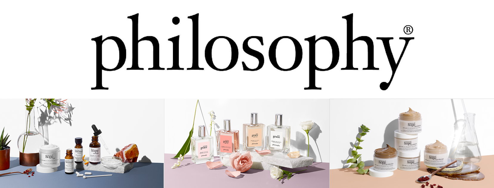 Philosophy products.
