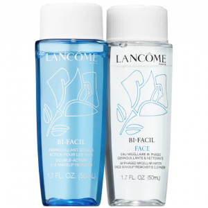 Lancome Bi-Facil eye makeup remover.