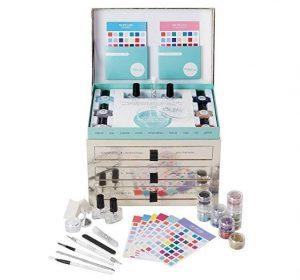 Ciate London nail kit box with nailpolish.