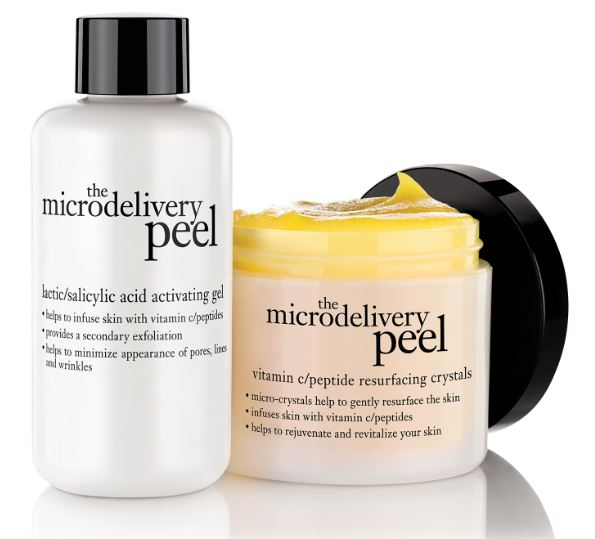 Philosophy The Microdelivery Peel skin gel and exfoliant.