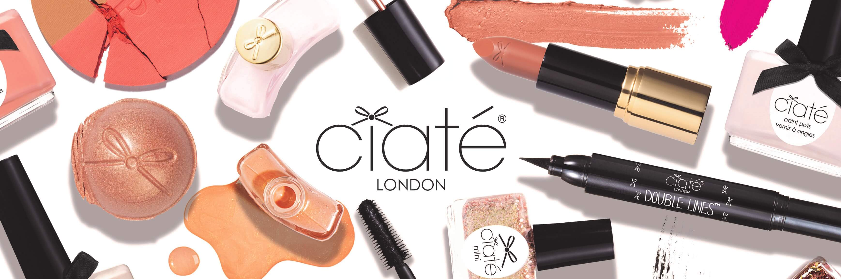 Caite london cosmetic products.