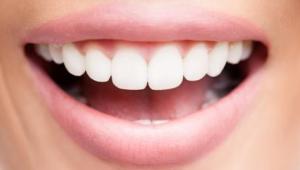 Nice teeth and mouth.