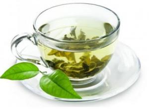 Cup of cardamom tea.