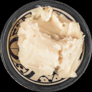 bowl of shea butter