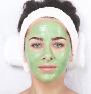 Mint face mask.