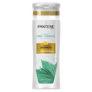 pantene clarifying shampoo.