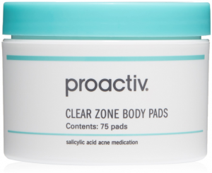 Proactiv Clear Zone Body Pads.