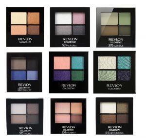 Revlon colorstay palettes.