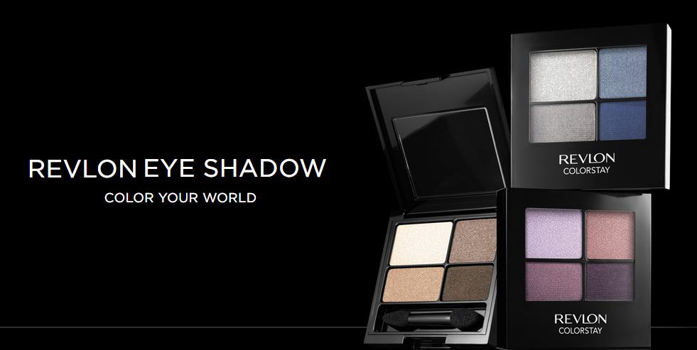 Revlon eyeshadow ad.
