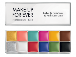 The Make Up For Ever flash palette.