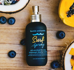 Bottle of Bumble and Bumble Surf Spray.