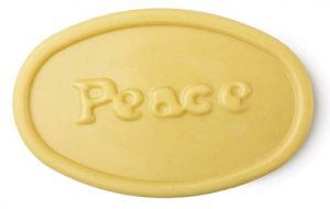 The peace massage bar made by lush.