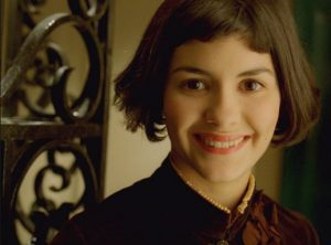 Audrey Tautou smiling in Amelie.