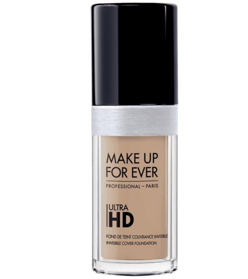 Make Up For Ever's Ultra HD Fluid Foundation.