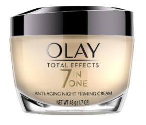 Olay Total Effects Anti-Aging Night Firming Cream.