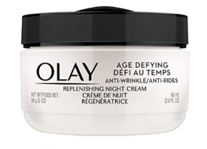 Olay Age Defying Anti-Wrinkle Night Cream.
