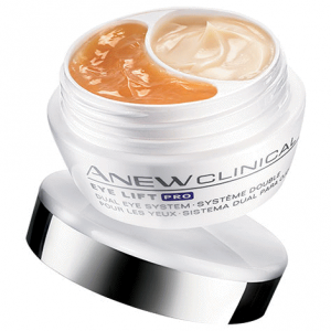 Tub of Avon Clinical Eye Lift Pro Dual Eye System.