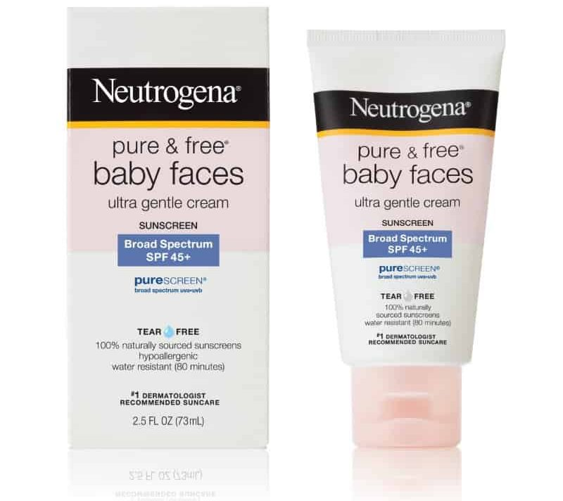 Neutrogena baby sunscreen