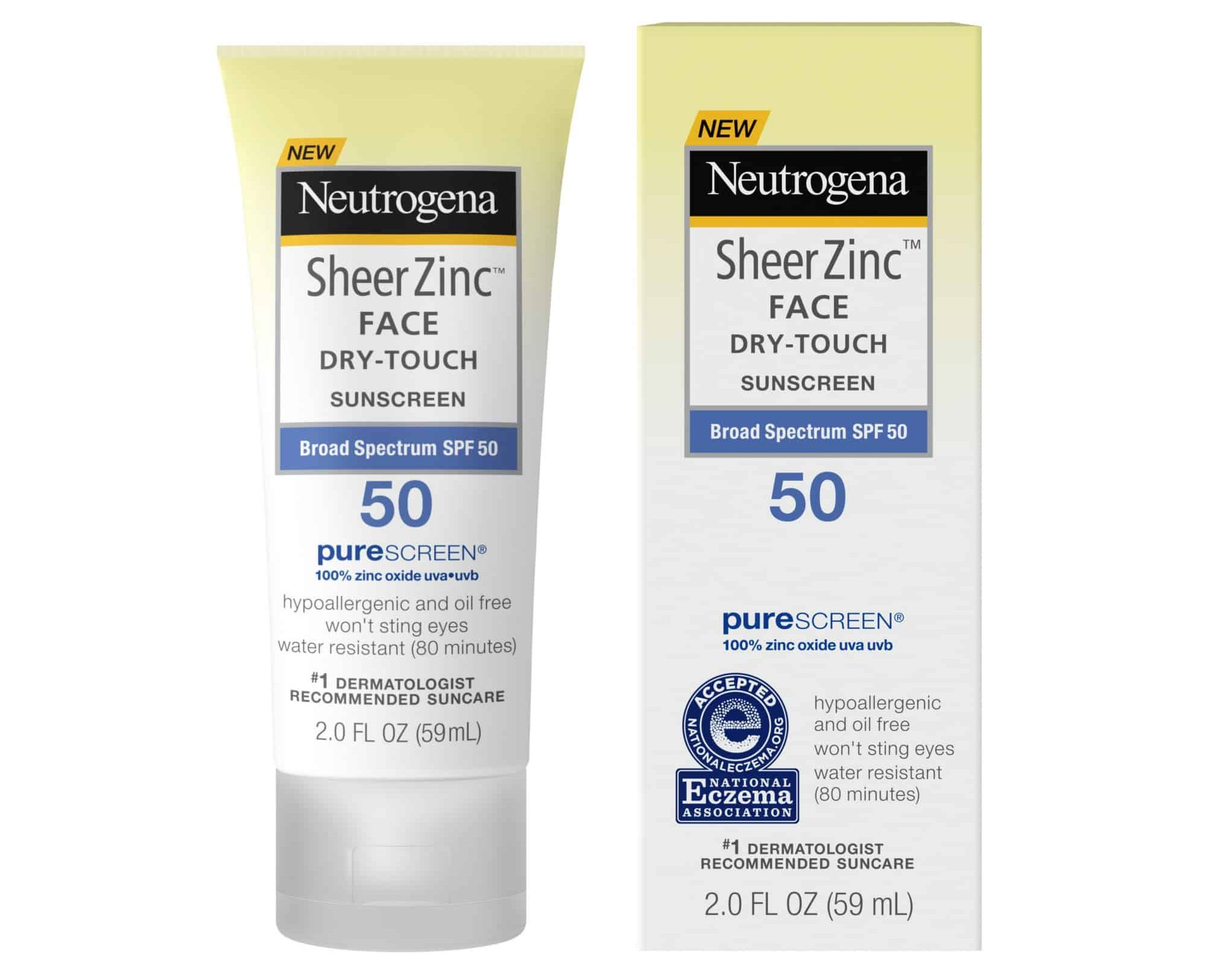 Neutrogena mineral sunscreen
