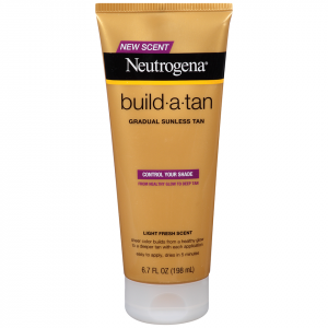 Neutrogena build a tan