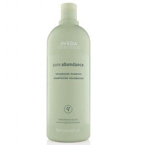 Bottle of Aveda Pure Abundance Volumizing Shampoo.
